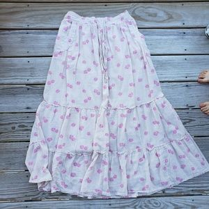 Old Navy Floral Maxi Skirt Size M